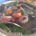 イサーン料理のランチ
