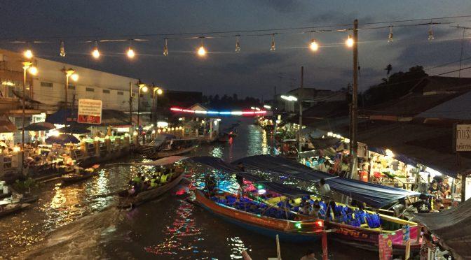 2018年タイ市場ごはんの旅