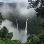 ラオスの滝